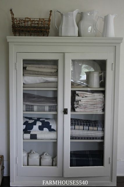 FARMHOUSE 5540: Guest Bedroom- New Place for Linens