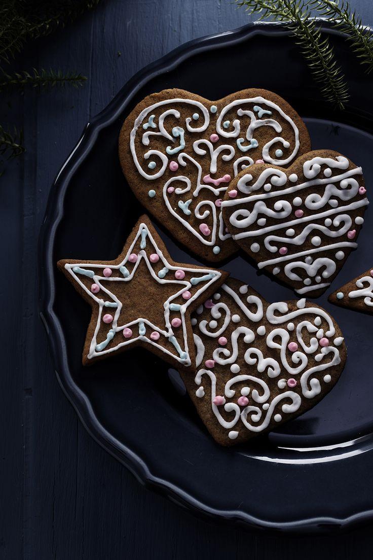 Gingerbread cookies www.pandurohobby.com Sweets by Panduro  #sweets #DIY #gingerbread #candy #cake #cookie #pepparkaka #kristyr #frosting