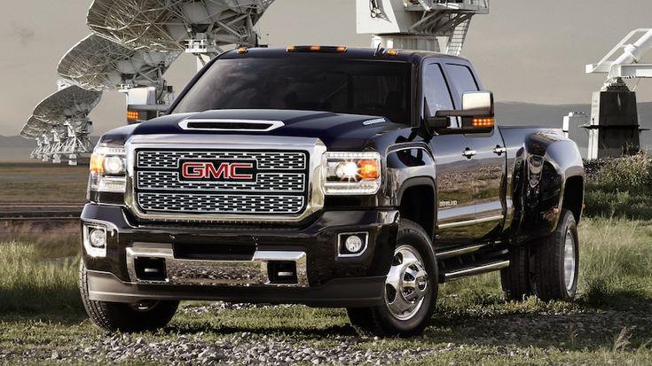 2018 Sierra Denali Hd Heavy Duty Pickup Truck In Onyx Black Denali Truck Auto Body Shop Trucks