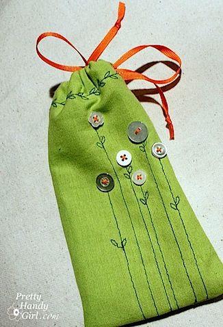 mini gift pouche