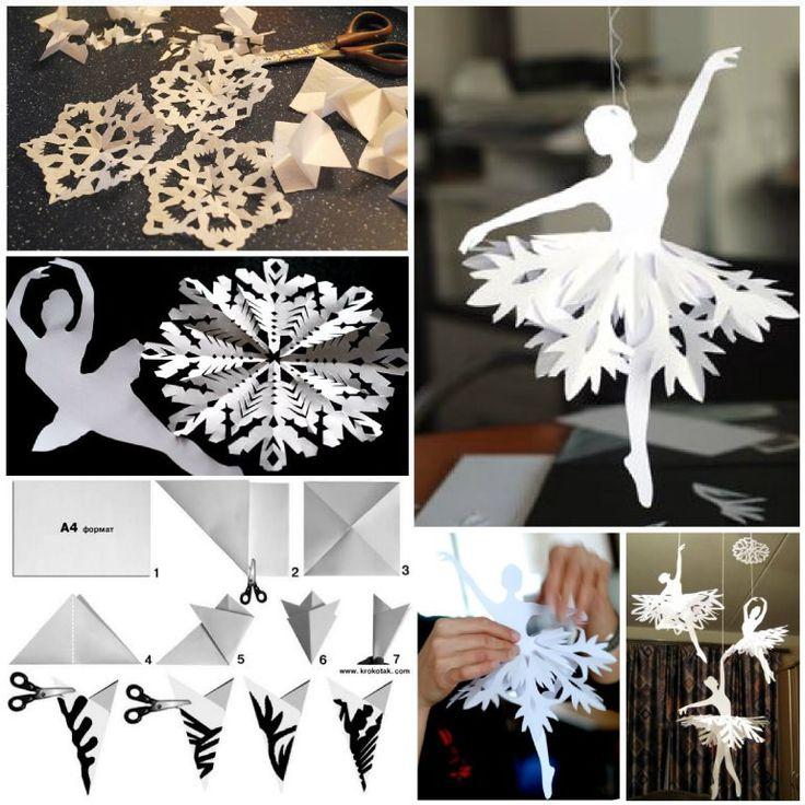 Snowflake Ballerinas