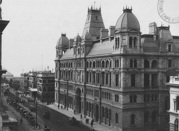 Post Office, Adderley Street, Cape Town by Arthur Elliott (1870 - 1938)