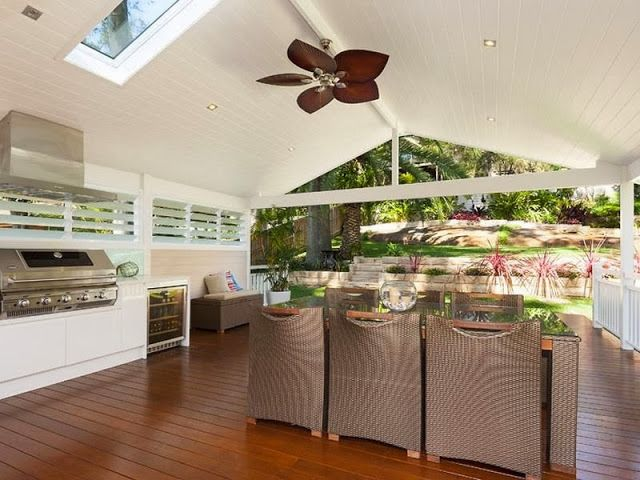 outdoor coastal kitchens. What a wonderful space. Light, breezy easy living lifestyle.