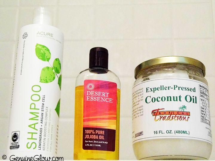 Hair Care Routine Acure Organics Shampoo…