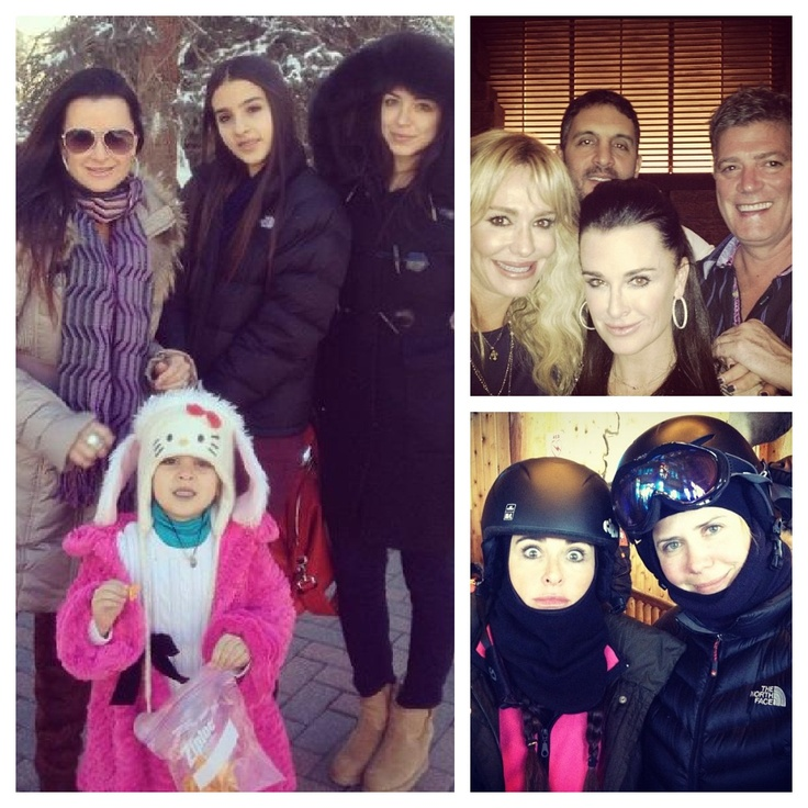 Kyle Richards And Taylor Armstrong's Family Vacation To Vail! ( Photos)