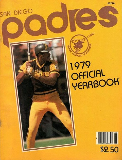 San Diego Padres 1979 Official Yearbook