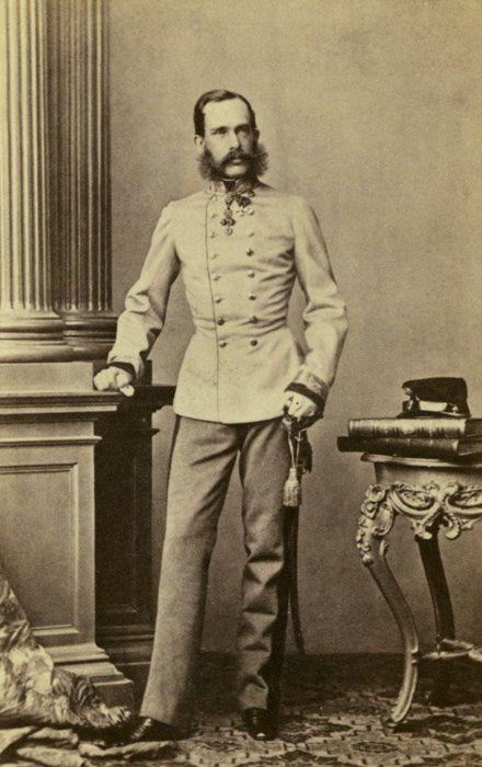 Emperor Franz Joseph in the 1860s