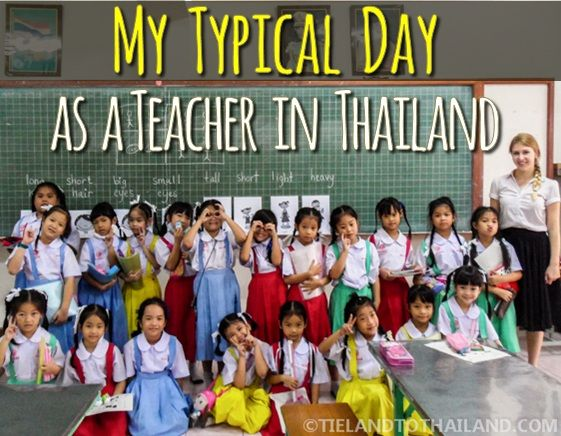 My Typical Day Teaching in Thailand