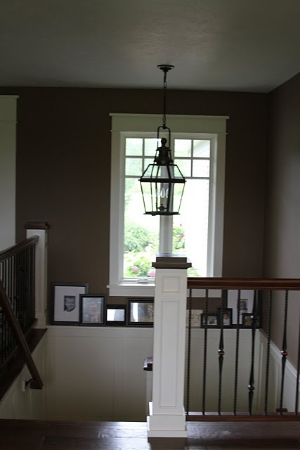 We Need To Move Our Hallway Light Fixture Over The Stairs