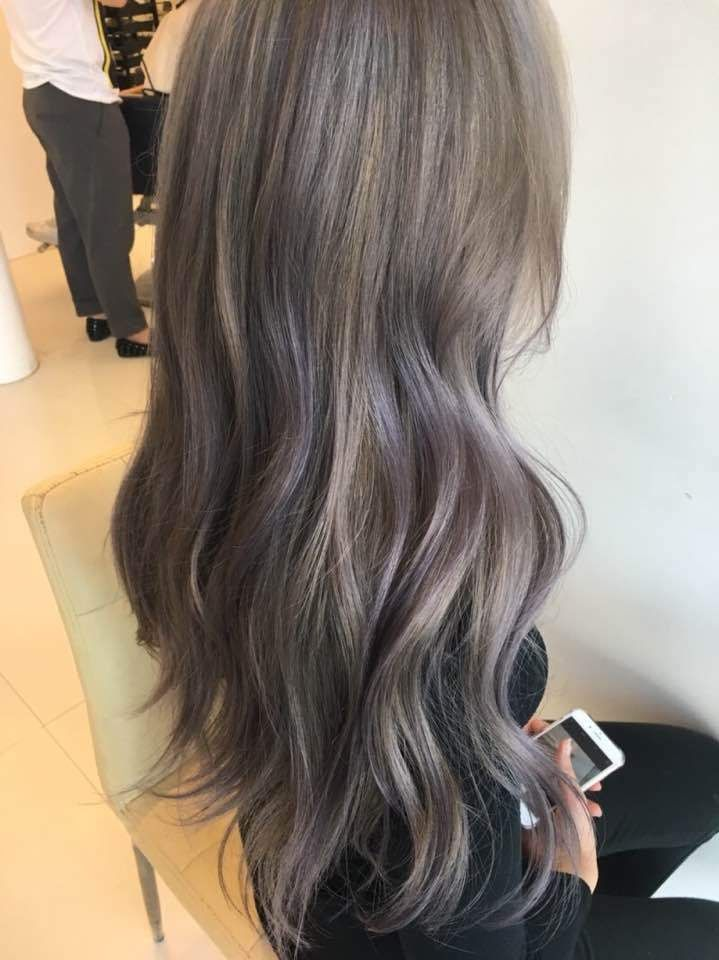 2017 hair color trend lavender ash korean kpop idol hairstyles for girls kpopstuff