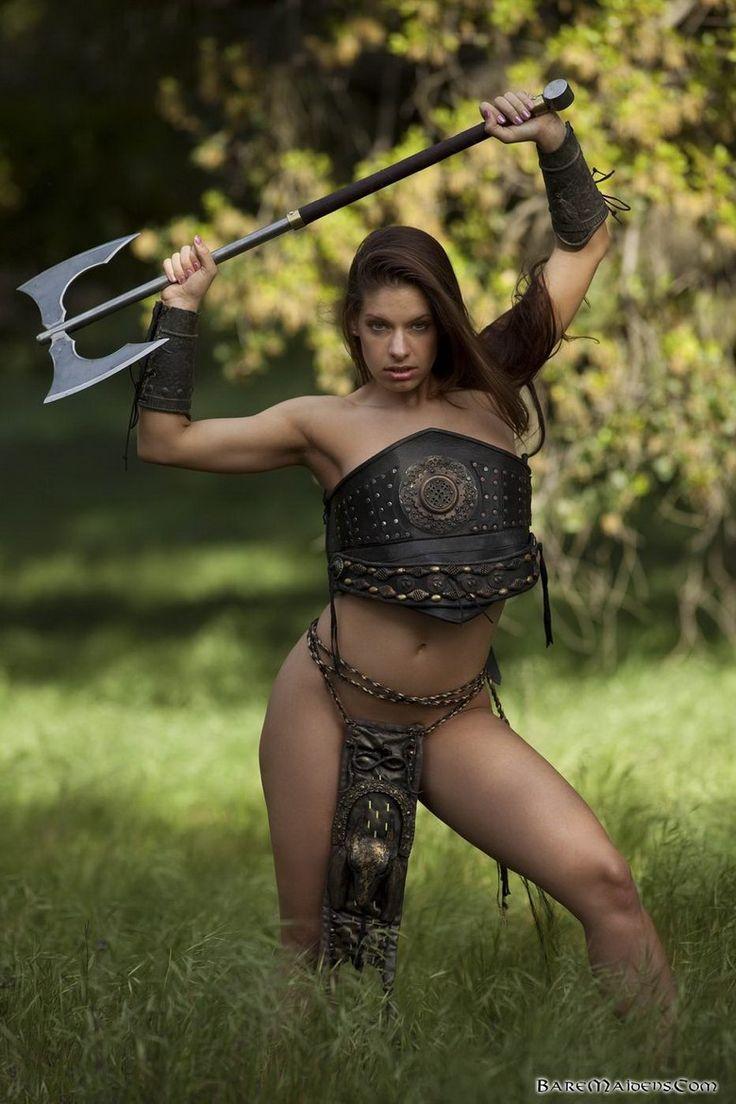 nudes-warrior-women
