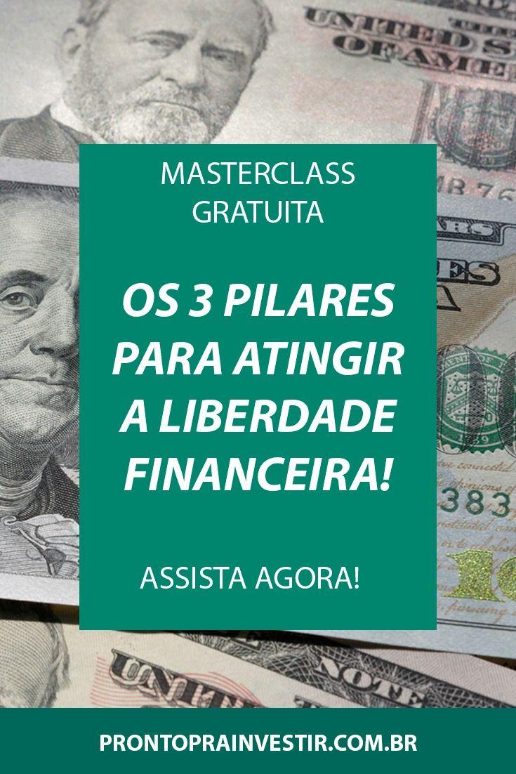 Masterclass Secreta Em 2020 Liberdade Financeira Investimento