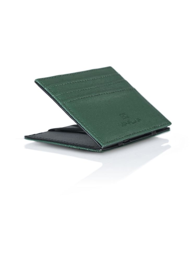 Vip Flap Portafoglio Wallet creditcard Porta Carte Linea Gum Edition Verde scuro