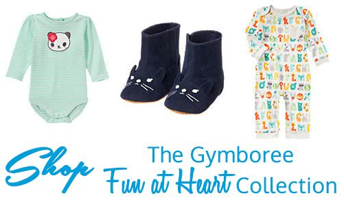 Have you had a chance to check out the GymboreeFun at Heartcollection?