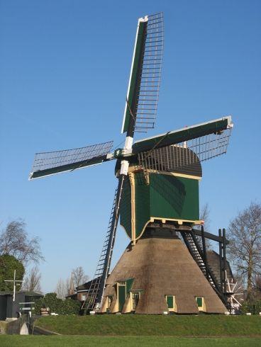Polder Mill, Kockengense Molen, Kockengen, the Netherlands