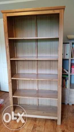 350 zł: Sprzedam regał na książki IKEA stan idealny, wymiary 190 x 92 x 33