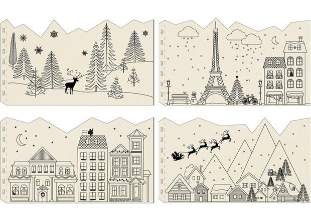 Des photophores pour une ambiance feutrée - Printable gratuit : nos étiquettes à télécharger - Prima.fr