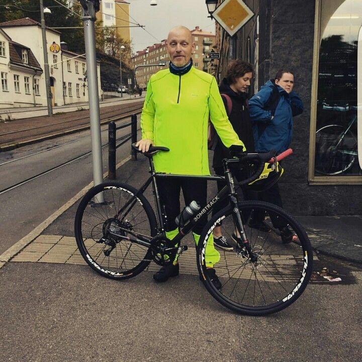 Ny cykel införskaffad.