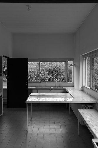 283 best images about INTERIORISM OF THE 20th CENTURY on ...Villa Savoye Kitchen