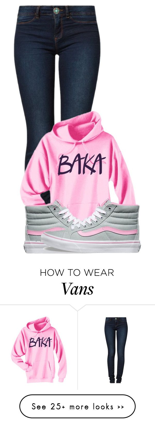"""""""Untitled #606"""" by keketruu on Polyvore featuring Desigual and Vans"""
