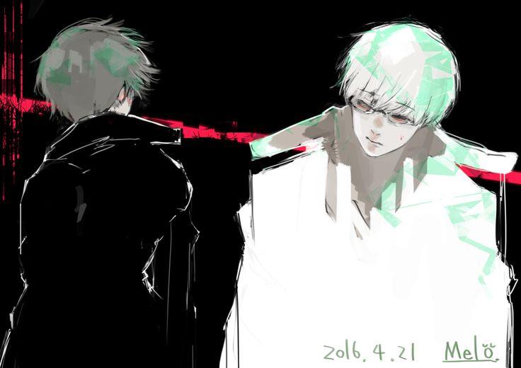 Kaneki Ken & Arima Kishou | Tokyo Ghoul:re