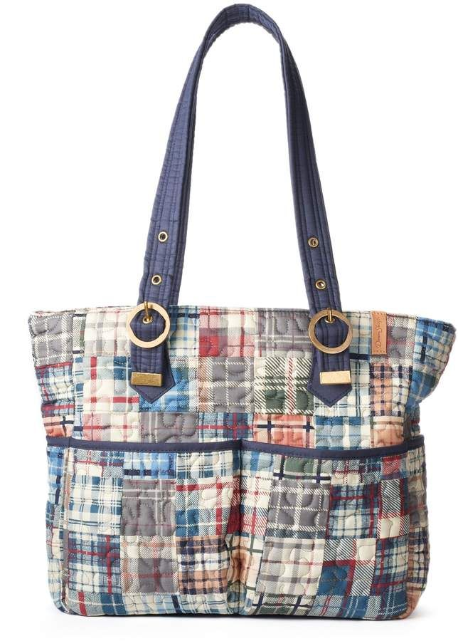 Donna Sharp Elaina Quilted Patchwork Tote Projects To