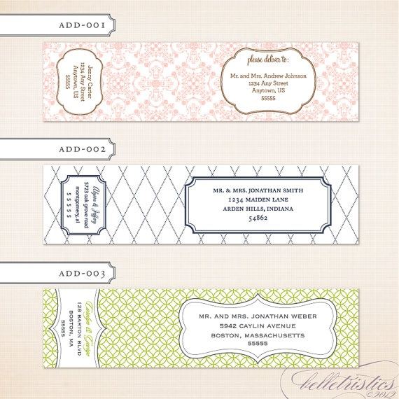 8 best Address labels images on Pinterest Mailing labels - mailing address labels template