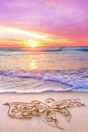 Sonnenuntergang am Meer im Paradies #Sommerurlaub #Impression #Holidays