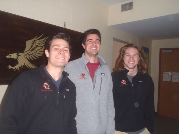 The Sophomores of the Boston College Club Hockey Team | Her Campus