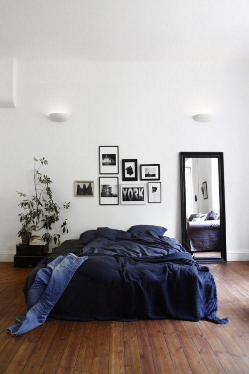 Blue - black - Brown - Green: Bedroom