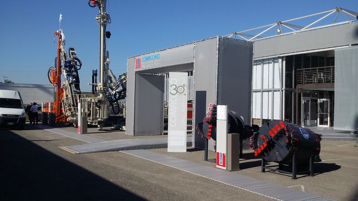 Exhibition space of Comacchio – Drilling Hi-Tech at Geofluid Piacenza