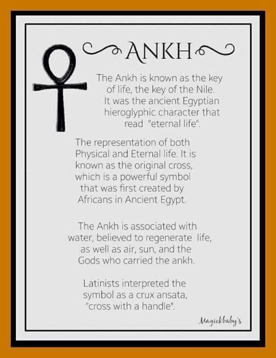 Ankh Meaning Alchemy Symbols Pinterest Symbols Egyptian And