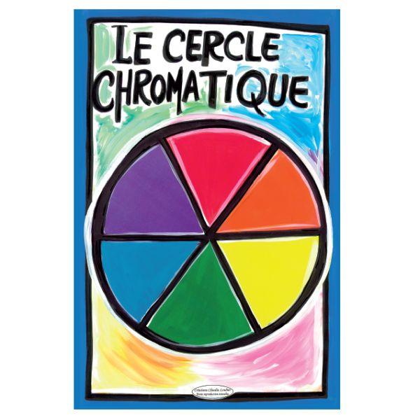 Affiche du cercle chromatique