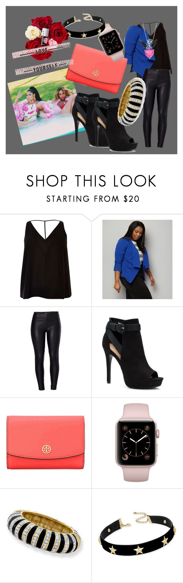 """""""classy gyal //"""" by pink-doll-house on Polyvore featuring River Island, New Look, Nicki Minaj, Venus, Apt. 9, Tory Burch, Kenneth Jay Lane and INC International Concepts"""