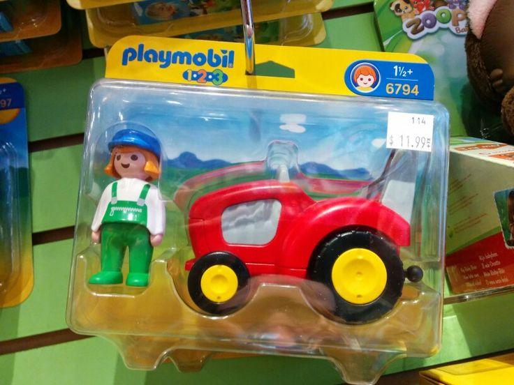 Tracteur playmobil 1-2-3