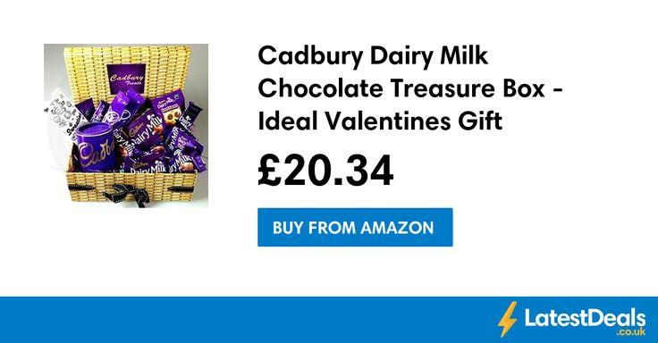 Cadbury Dairy Milk Chocolate Treasure Box - Ideal Valentines Gift, £20.34 at Amazon