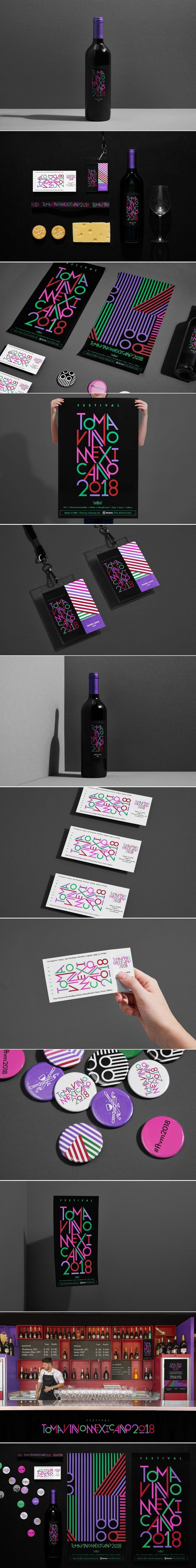 This Wine Festival Branding Is Not For the Pretentious — The Dieline | Packaging & Branding Design & Innovation News