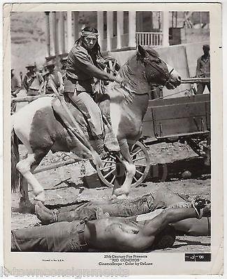 RIO CONCHOS COWBOYS & INDIANS WESTERN MOVIE VINTAGE 20th CENTURY FOX MOVIE PHOTO