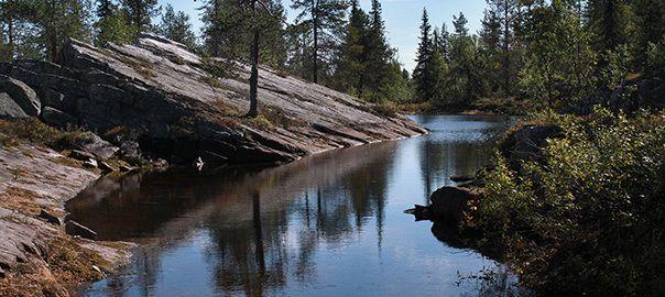 Savukoski, Mother Pine's pond - Savukoski, Äitipetäjän lampi