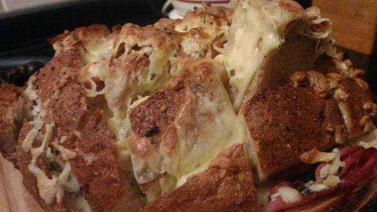 Sarımsaklı Peynirli Enfes Ekmek