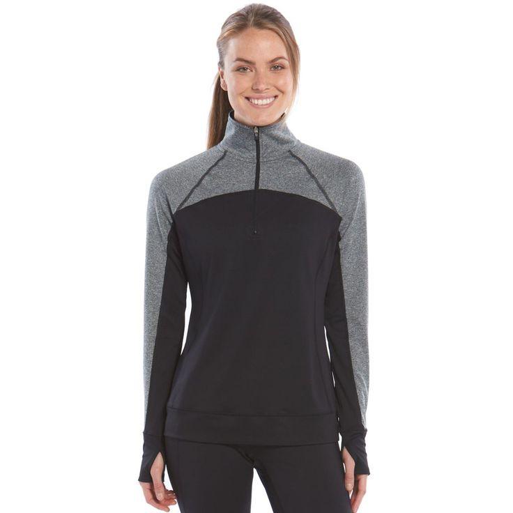 Tek Gear® Quarter-Zip Raglan Workout Jacket - Women's