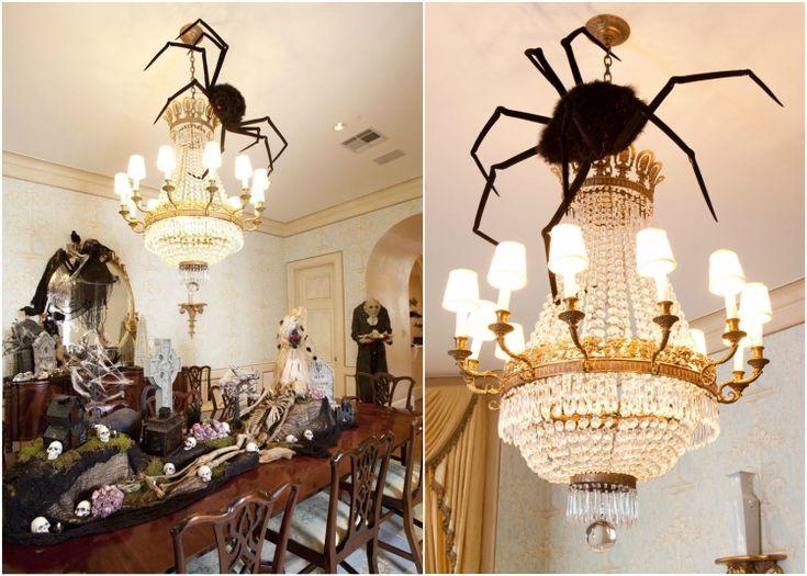Die besten 25+ Halloween Kronleuchter Ideen auf Pinterest - halloween deko wohnzimmer
