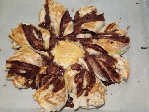 Photo de recette Gâteau flocon de Noël - Marmiton