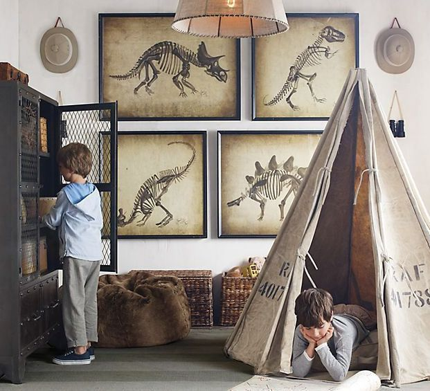 Ideas for Maddox's bedroom love the Dino pictures<3