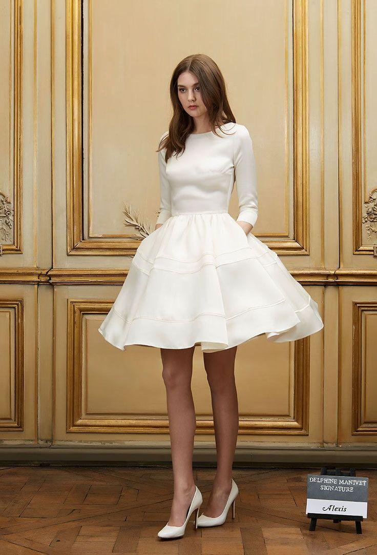 Delphine Manivet Bridal Spring Summer 2016 Look 14 On Moda Operandi Dream Party Dress Alexis