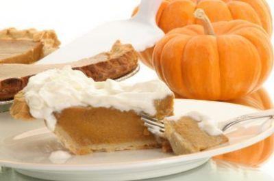 Tekvicový koláč so šľahačkou, ©iStockphoto.com/Artist