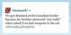 "Klaracee91, who had the worst road trip ever: | 19 People Who Totally Nailed Jimmy Fallon's ""Tonight Show"" Hashtags"