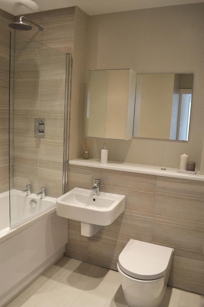 Neutrale Farben Badezimmer Design Ideen | Badezimmer | Cuarto de ...