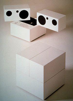 Brionvega RR130    Designer: Mario Bellini    Year: 1974