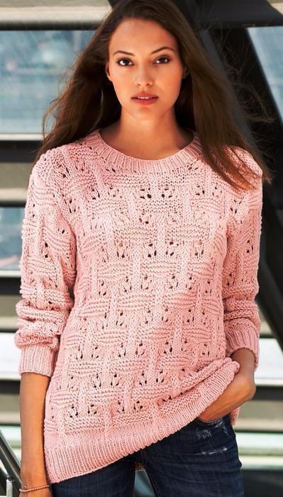 Пуловер с плетеным узором. Обсуждение на LiveInternet - Российский Сервис Онлайн-Дневников